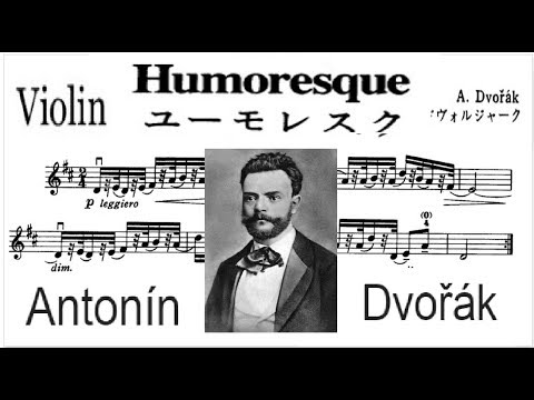 Suzuki Violin libro 3-04- Humoresque. A. Dvorák Sheet Music