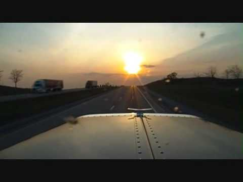 Driving Into The Sunset.