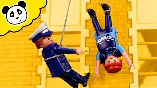Download Video Playmobil Polizei - SEK Einsatz geht schief! - Playmobil Film MP3 3GP MP4