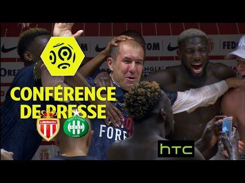 Conférence de presse AS Monaco - AS Saint-Etienne (2-0) / 2016-17