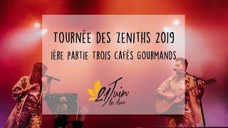 Extraits de la tournée des Zéniths 2019, en 1ère partie de Trois Cafés Gourmands (21 Juin Le Duo)