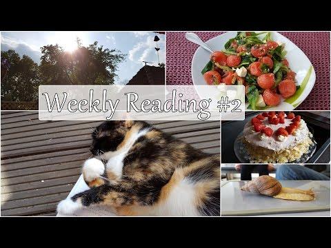 [Weekly Reading] #2   Mai 2017 \ Ein paar Bücher, etwas Pech und erste Sommertage