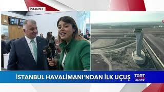 İstanbul Havalimanı'ndan İlk Uçuş
