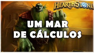 HEARTHSTONE - UM MAR DE CÁLCULOS! (STANDARD SPELL MAGE)