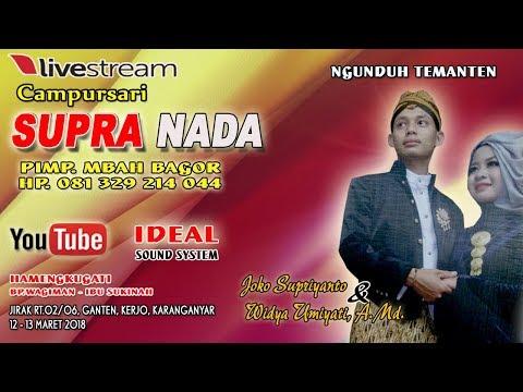 Live Streaming//CS. SUPRA NADA //IDEAL  SOUND// DIAN PICTURES//LIVE  JIRAK, GANTEN, ERJO[