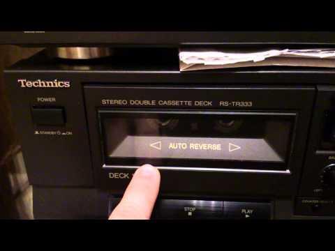 Неприятность Technics RS-TR333