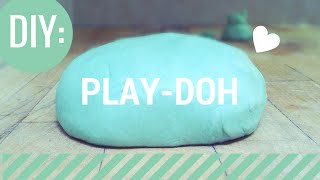 DIY: Play-Doh! (NO BAKE)