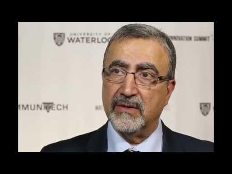 Feridun Hamdullahpur on the University of Waterloo's DNA
