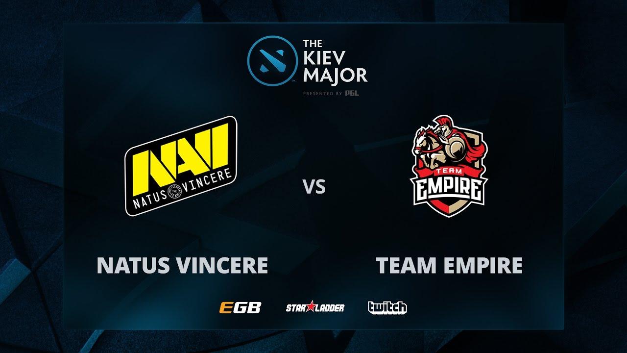 Na'Vi vs Empire, Game 3, The Kiev Major CIS Main Qualifiers Play-off