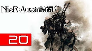 Nier: Automata PC Walkthrough 20 - 9S Breaking Through