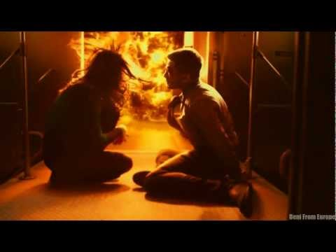 2012 BEST MOVIE SCENE SLOW MOTION  FIRE EXPLOSION Source code 2011