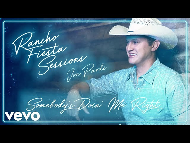 Jon Pardi - Somebody's Doin' Me Right (Official Audio)