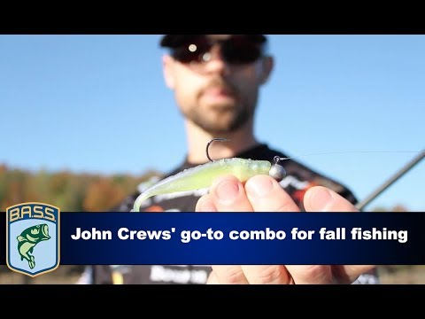 John Crews' go-to combo for fall fishing