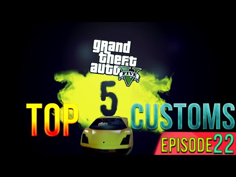 GTA 5 Online - Mango + Strawberry Top 5 Paint Job Guide! (GTA V Online Gameplay)