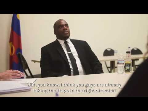 CEO speaks at the Hillman Entrepreneurs Panel Discussion at Montgomery College