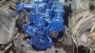 Дизель Д 240 на ГАЗ 3307 установка двигателя. Diesel D 240 for GAZ 3307 engine installation.