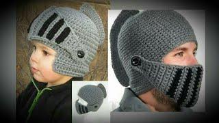 Erkek örgü gladyatör bere yapımı | gladiator beret weave | knight helmet