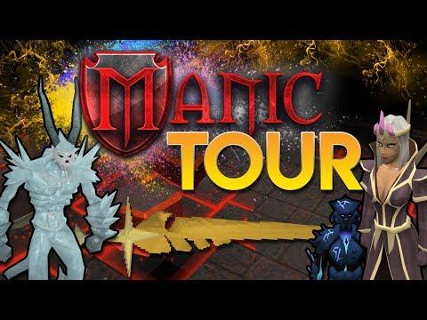 ManicPS : Server Tour : 60+ BOSSES!? Opening PVM Keys, Prestige Perks (JUICY GIVEAWAY!) RSPS