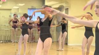 Teen Ballet Spring Performance Rehearsal