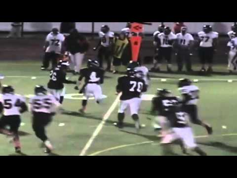 #74 Lucien Cuozzo O-Line Senior Year Highlights - Robichaud High School