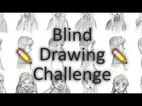 Blind Drawing Challenge: Heart Chamber