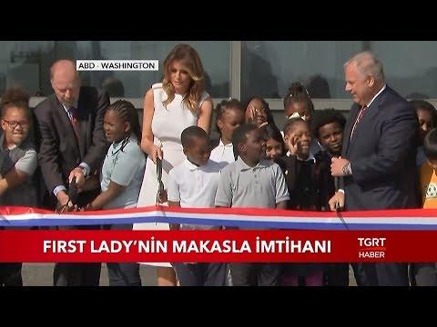Melania Trump'ın Makasla İmtihanı