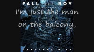 Fall Out Boy From Now On We Are Enimies lyrics
