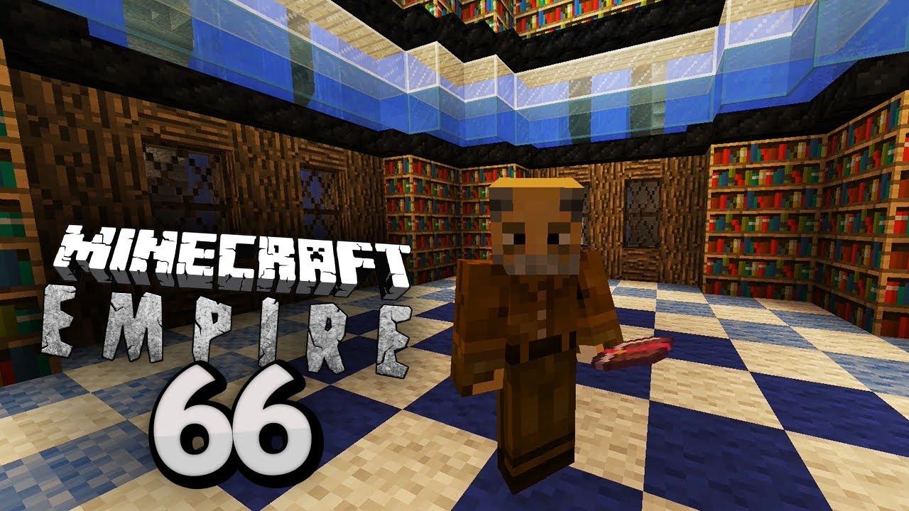 Die GEHEIME BIBLIOTHEK Minecraft EMPIRE Clym YouTube - Minecraft geheime hauser