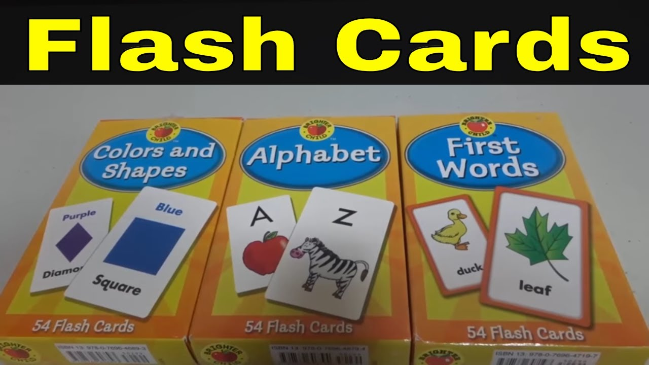 26 Letters Durable English Flash Cards with Buckle Educational Alphabet Paper