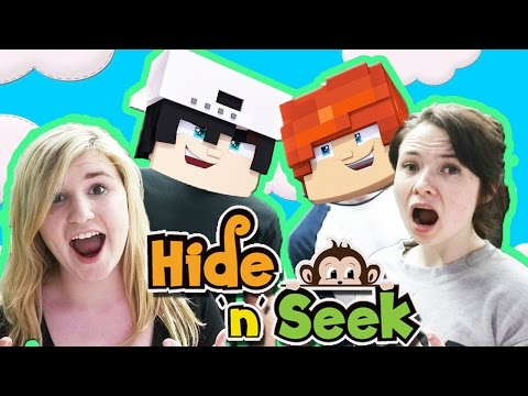 HIDE AND SEEK WITH RAVEN & LEO ! Kelly and Carly Vlogs (Little Club HQ)