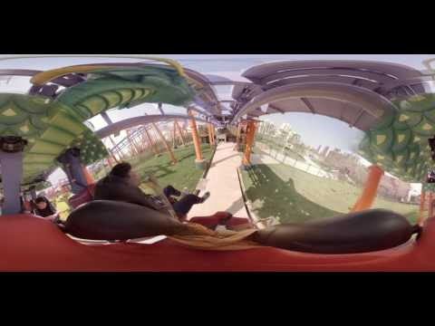 360° RollerCoaster at Wanda Cultural Tourism City Nanchang