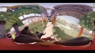 Video: Pura adrenalina en 360°