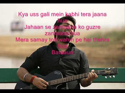 Khamoshiyan Song with Lyrics Arijit Singh ...