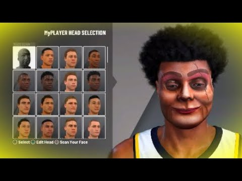 *NEW* VENTRILOQUIST FACESCAN IN NBA 2K20