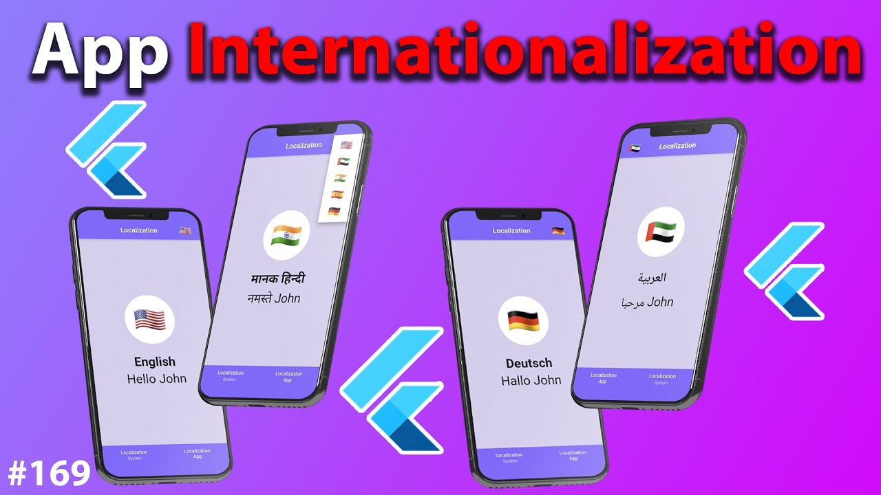 Download Flutter Tutorial - Localization & Internationalization with INTL & ARB Files