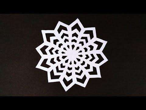 Paper Cut Out Art   Paper Cut Out Art Tutorial   Easy Paper Cutting Craft Design