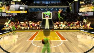 Kinect Sports Season 2 Basketball Challenge Pack Alley-oop Dreams Xbox 360 Kinect 720P gameplay