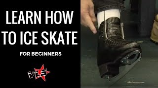 Vinnie Langdon: How To Ice Skate For Beginners