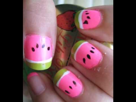 cute nail designs  youtube