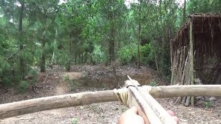 Primitive Life-Make Arbalest-CrossBow-Primitive Technology used! thumbnail