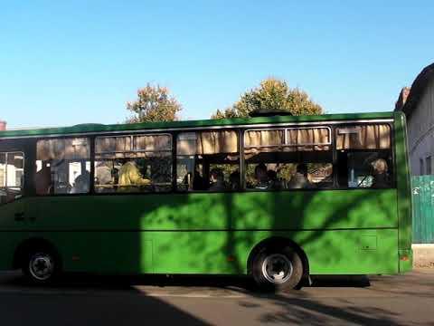 ObriIzyum: Новий автобус на маршруті №5 м. Ізюм