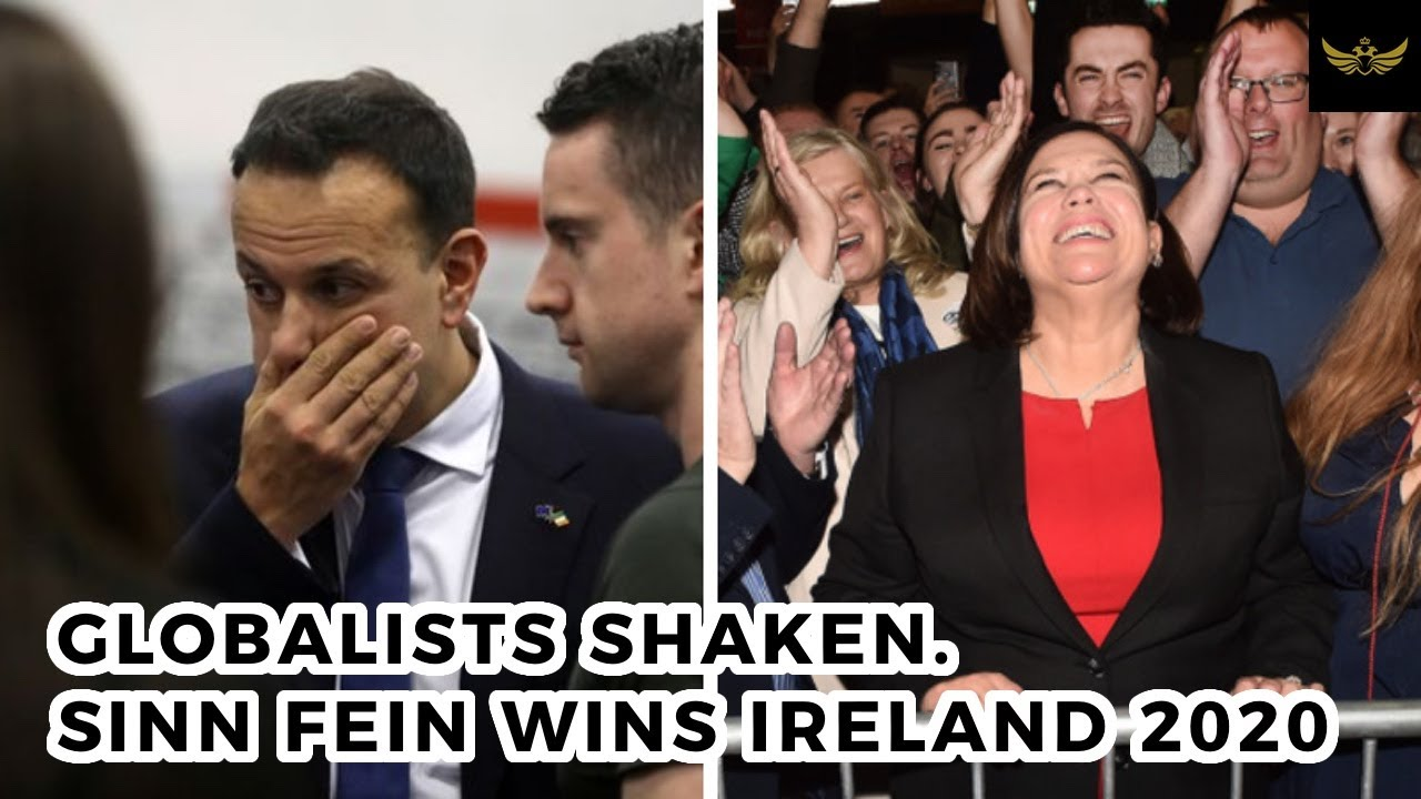 Another nail in globalist coffin. Sinn Fein scores big win in Ireland