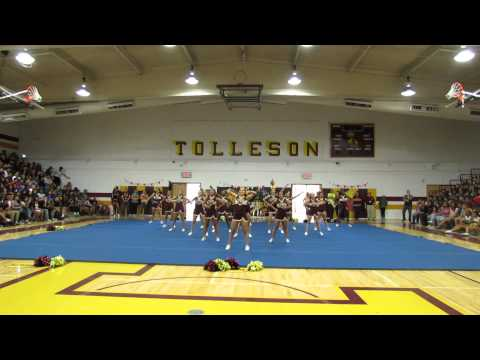 Tolleson Union High School Spiritline Assembly 1 8 28 15