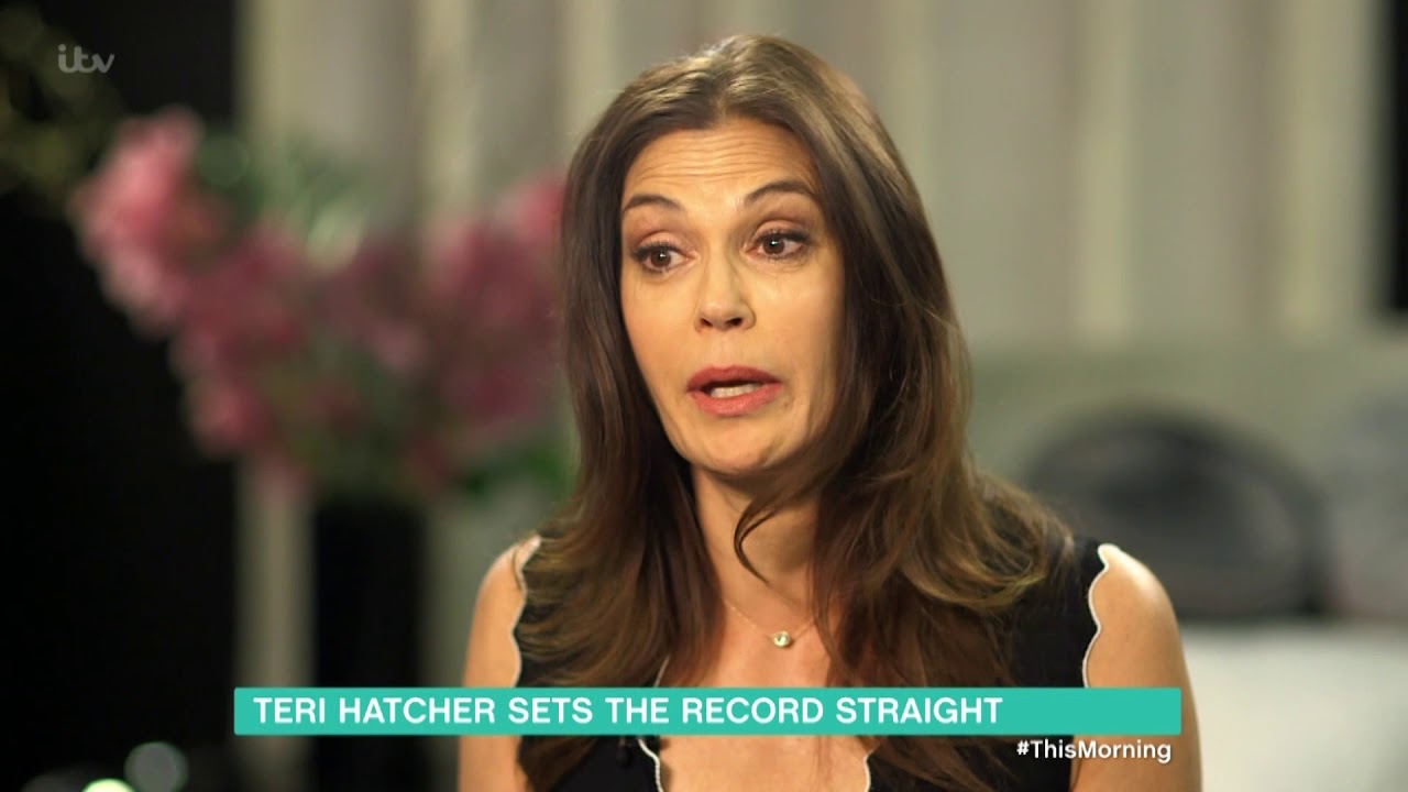 Download Teri Hatcher Sets the Record Straight | This Morning