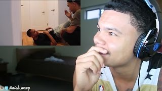 Fell Down Stairs Prank Gone Wrong Reaction