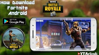 FORTNITE MOBILE - HOW TO GET GOOGLE PLAY DOWNLOAD LINK