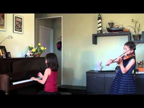 ใกล้รุ่ง เปียโน-ไวโอลิน (เด็ก 9 ขวบ)