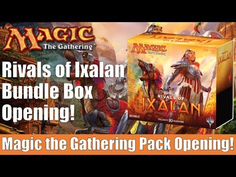 MTG Rivals of Ixalan Bundle Box Opening