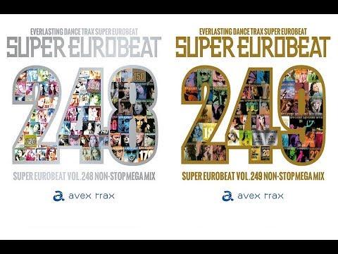 MY FAVORITE SONGS IN SUPER EUROBEAT 248 & 249