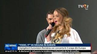 """""""yodel it"""" va răsuna în europa ilinca şi alex vor concerta la londra madrid şi amsterdam"""